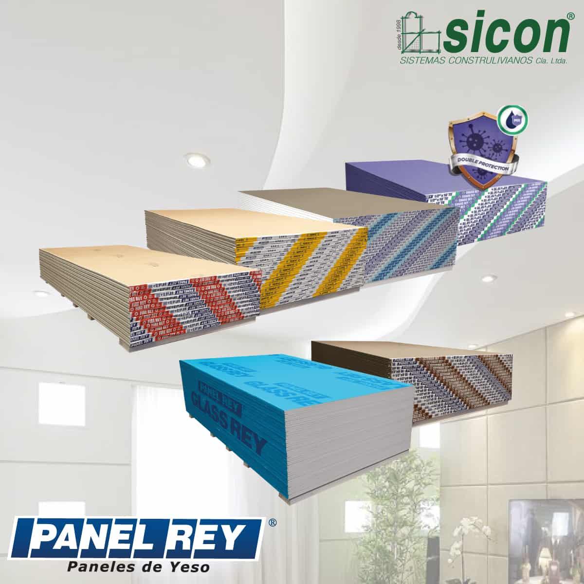 productos Sicon Gypsum